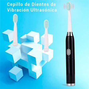 Cepillo de dientes eléctrico, recargable para niños y adultos, resistente al agua automático sónico, suave de 3W