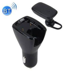 Audífono Bluetooth Inalámbrico con Cargador de Auto