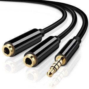 Cable Auxiliar Doble 2 en 1