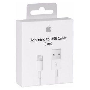 Cable iPhone 1m / 2m en Caja Carga Rápida