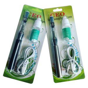 Cigarrillo Electrónico e-cigarrillo vape pen kit 900 mAh CEO + Esencia
