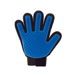 Bobo Touch - Guantes de cerdas con cinco dedos para masaje y quita pelos para perros y gatos
