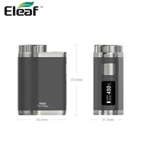 Original Eleaf iStick Pico Mega TC 80W Mod Kit con Melo 3 atomizador 4 ml capacidad inteligente