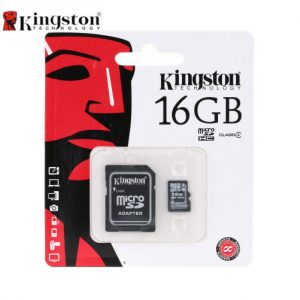 Kingston Tarjeta de Memoria Micro SD 16gb