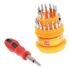 Kit Destornilladores De Precisión 31 Herramientas En 1