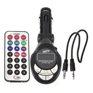 Modulador Bluetooth para Autos Auxiliar FM