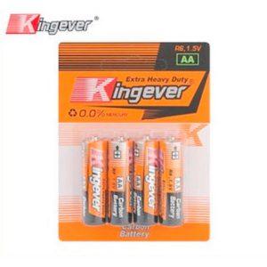 Kingever 4 en 1 pilas AAA y AA