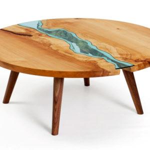Round Table Landscape Ornament