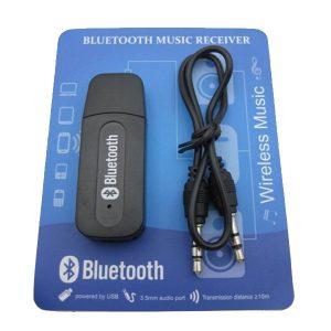 Receptor Adaptador Audio USB Bluetooth Usb 3.5mm Auxiliar