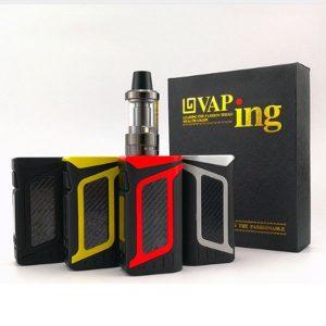 Vape Kit 80 W humo cigarrillos electrónicos caja mod 2000 mAh batería con 3,5 ml atomizador Vaping